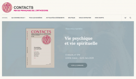CONTACTS - Revue française de l'Orthodoxie